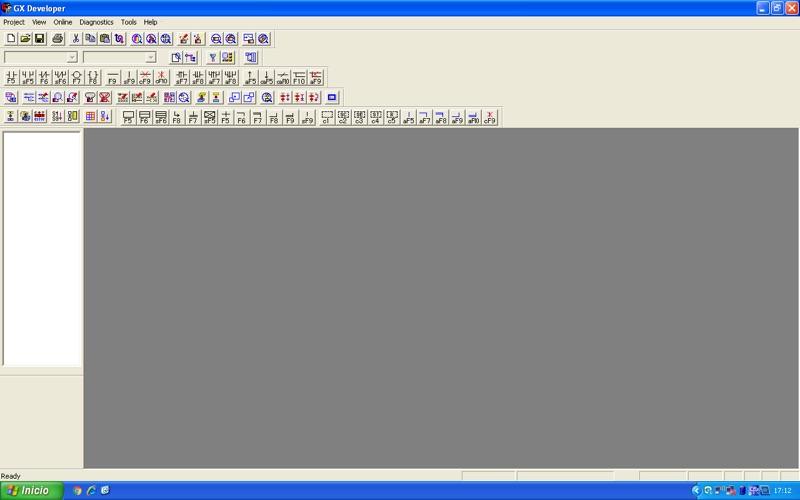 Software Gx Developer para Mitsubishi